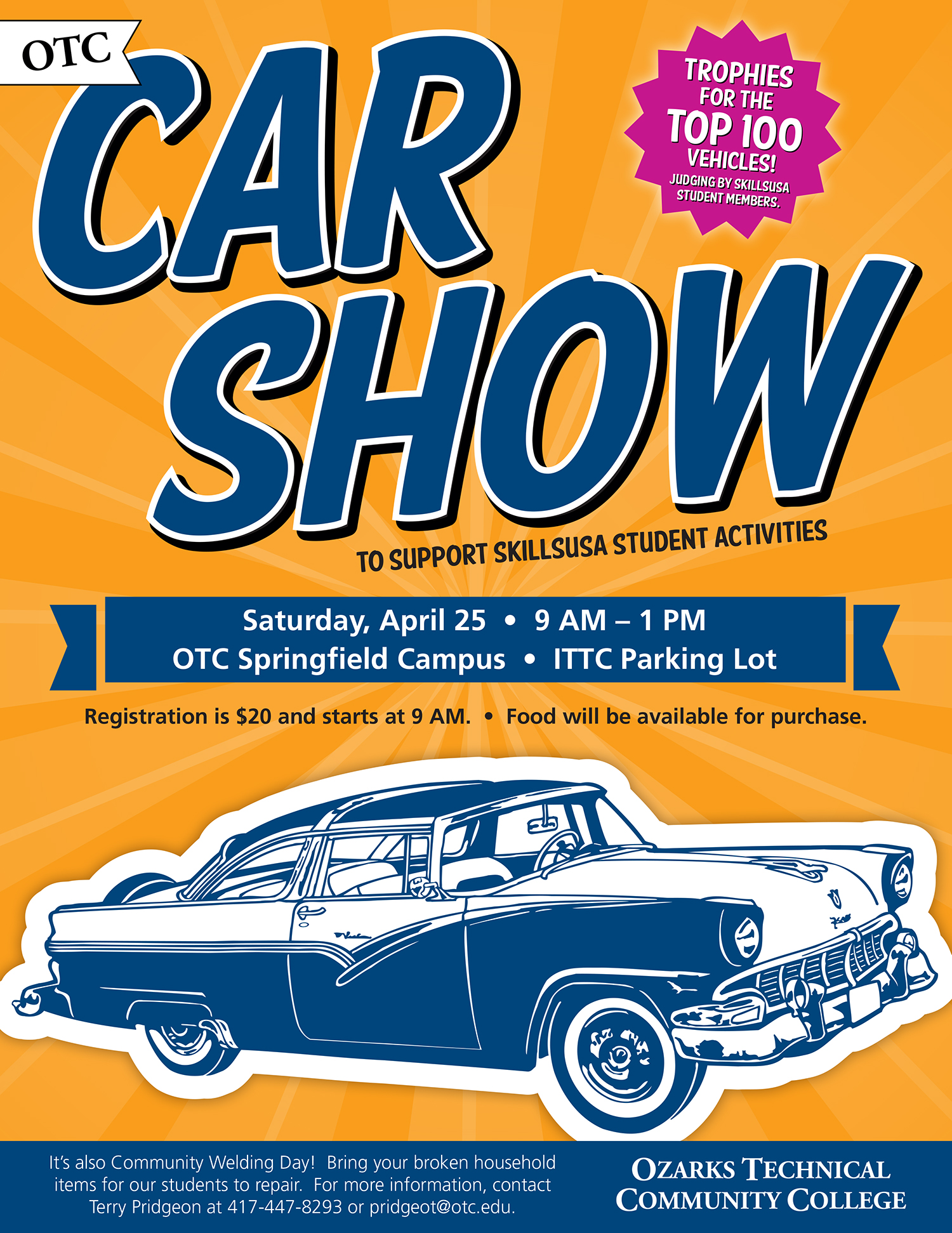 OTC invites community to plant sale car show and welding event – Car Sale Flyer
