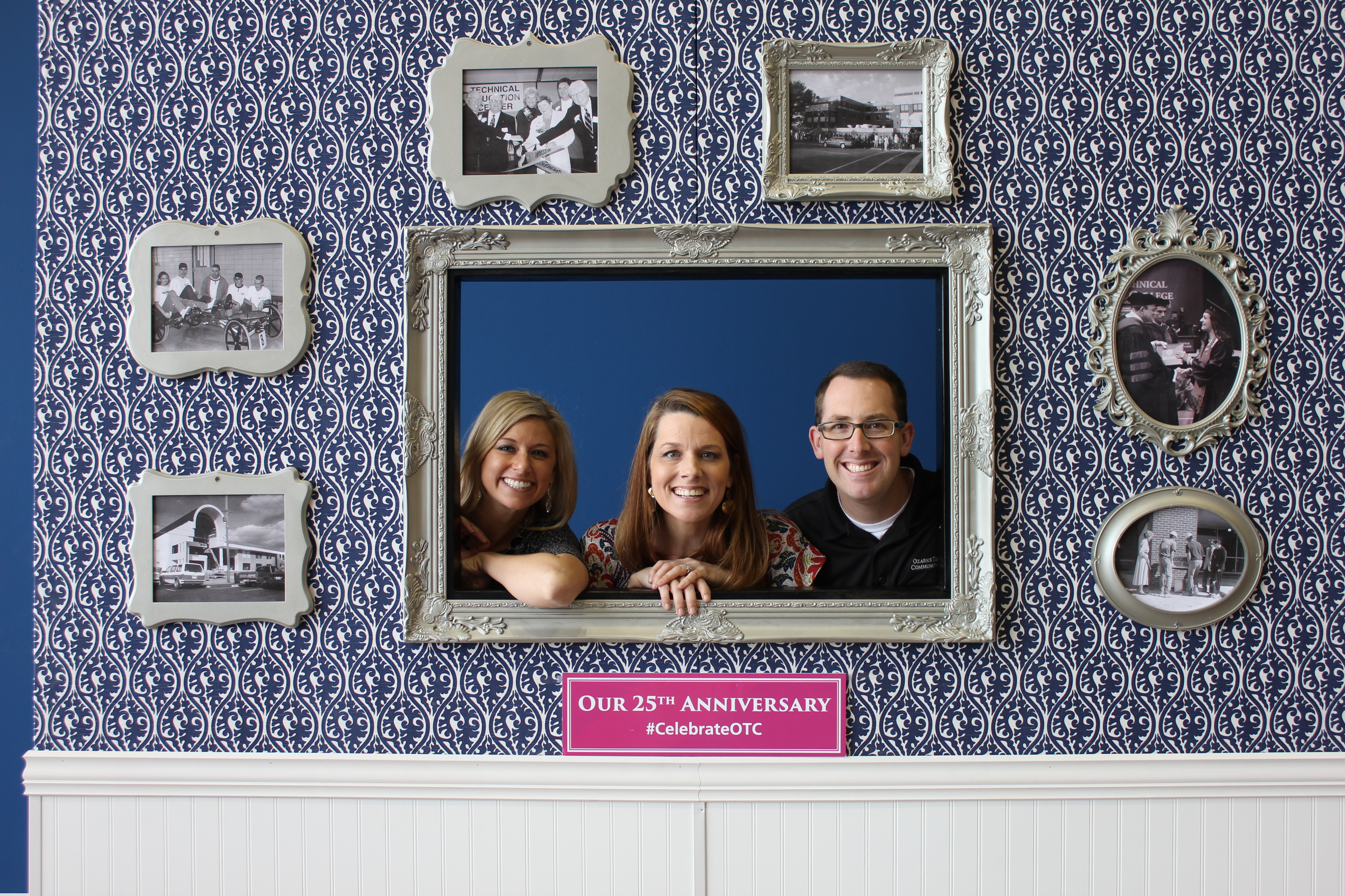 OTC 25th anniversary photo booth pictures