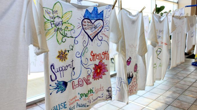 Clothesline Project T-shirt