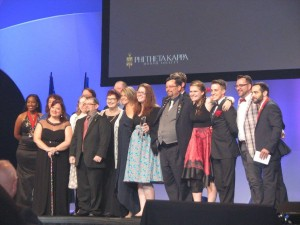 Phi Theta Kappa award
