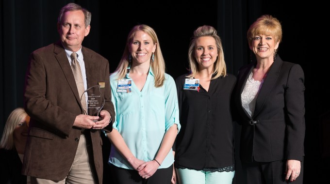CoxHealth Employees Accept Employer Of The Year Award