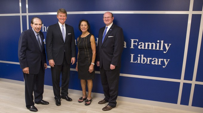 OTC Hosts Dedication Of Sam And June Hamra Family Library