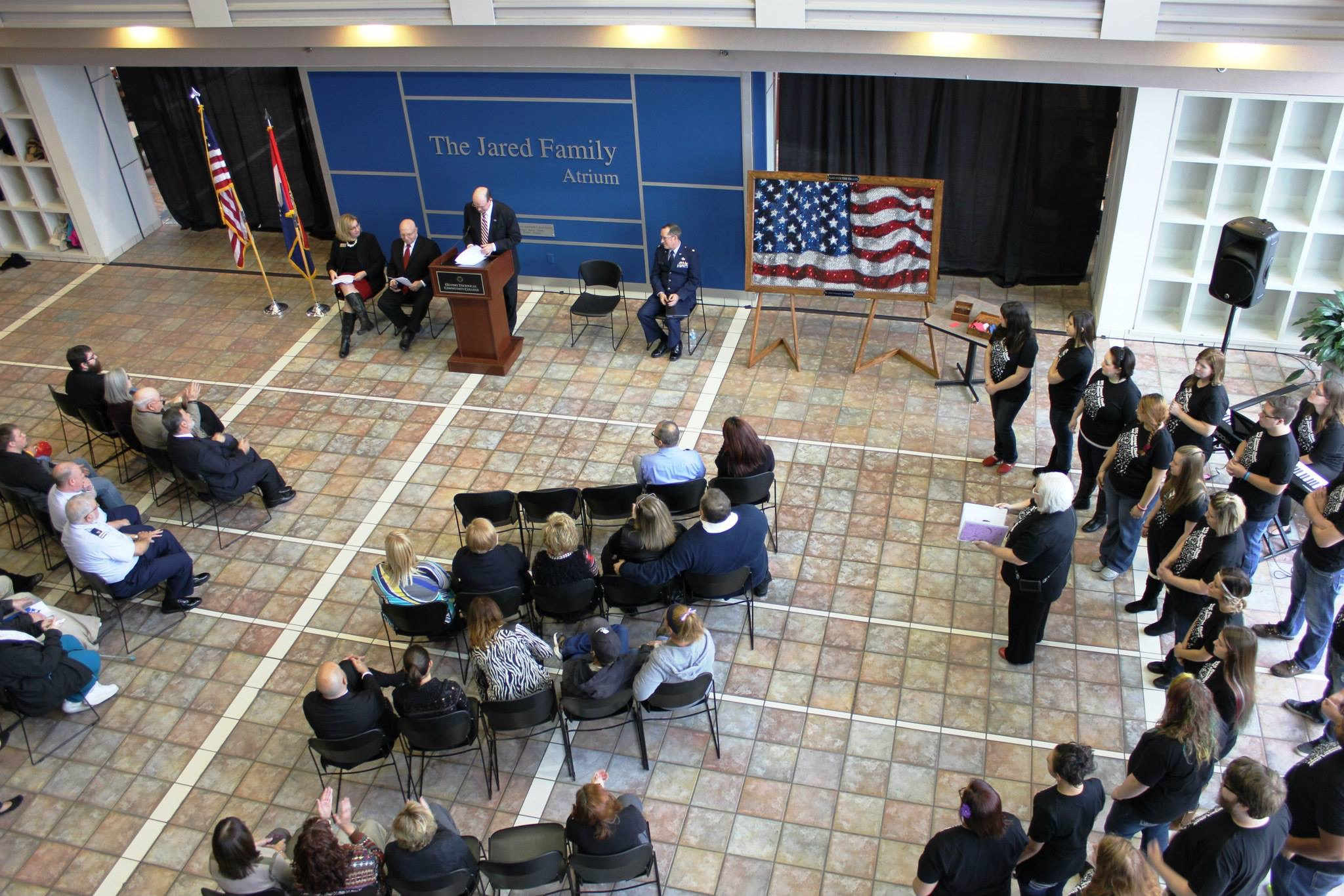 OTC observes Veterans Day