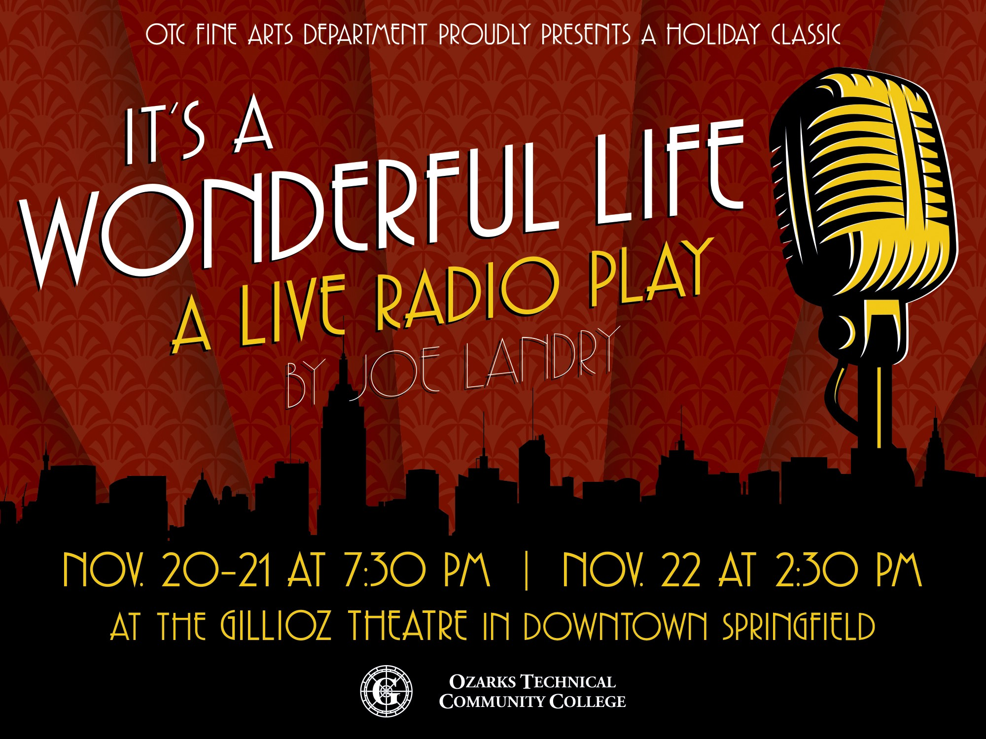 Otc Presents It 39 S A Wonderful Life A Live Radio Play