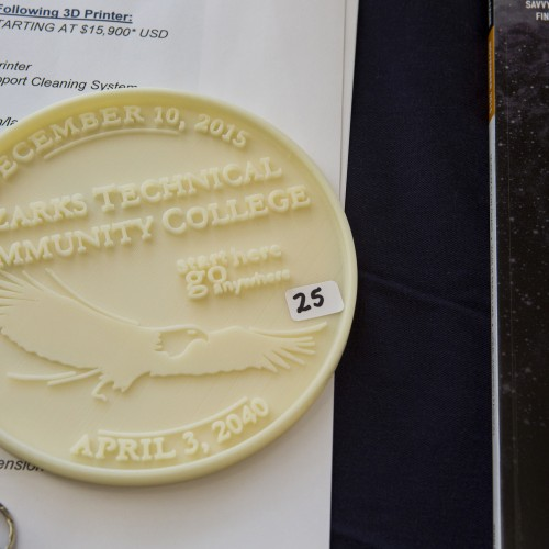 A Seal Designed And Constructed With A 3-D Printer