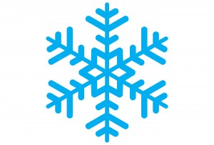Basic & simple design of a snowflake.