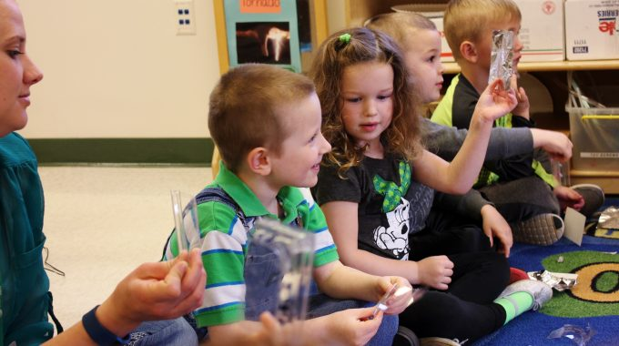 ECEC Preschoolers Reduce, Reuse And Recycle