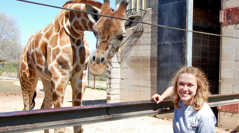 Lauren Sweet, zookeeper