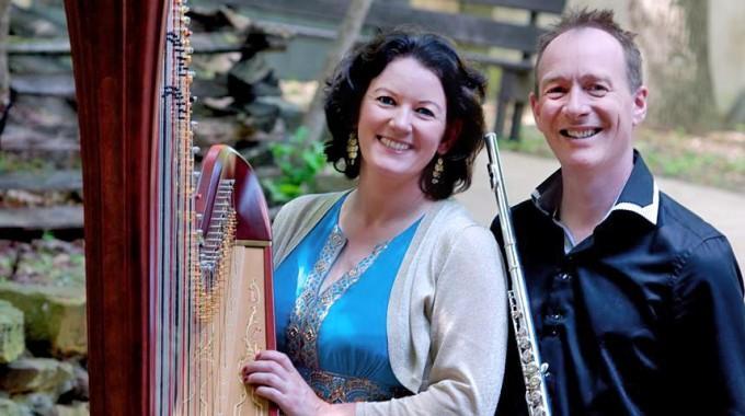 Harpist Dearbhail Finnegan, Robin Slater