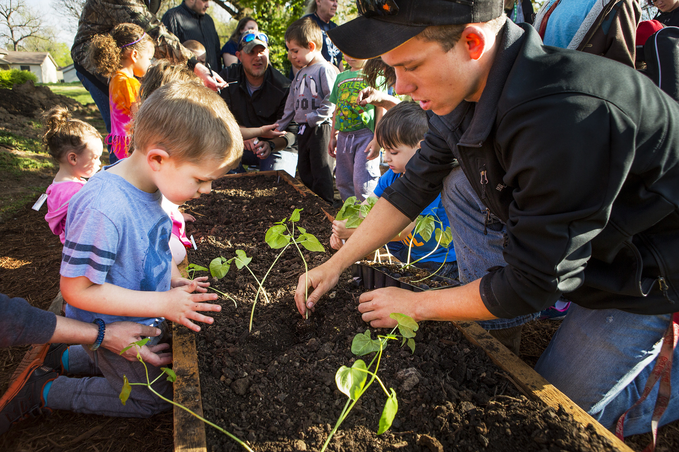 Kinder Garden: Early Childhood Education Center Receives Farm To
