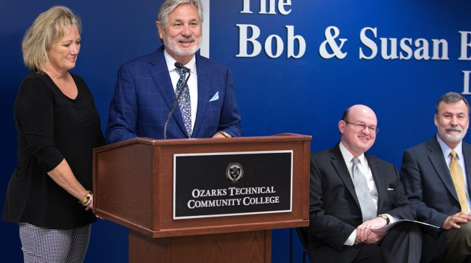 OTC Recognizes Bob And Susan Beine With Naming Ceremony