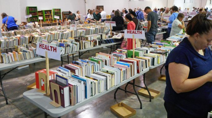 How OTC Helped The Library's Book Sale