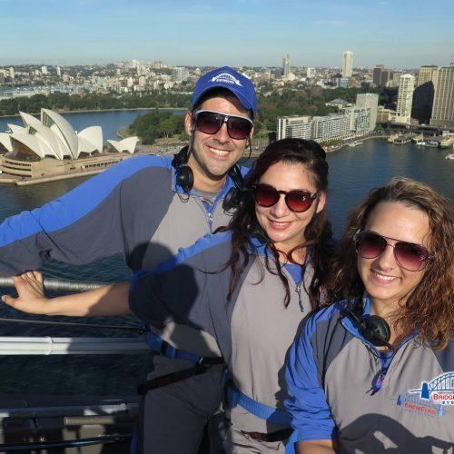 Group On Sydney Harbor Bridge