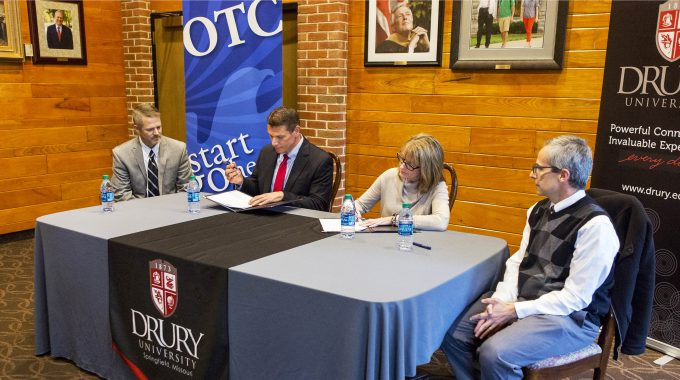 OTC And Drury Sign Agreement To Benefit Honors Students