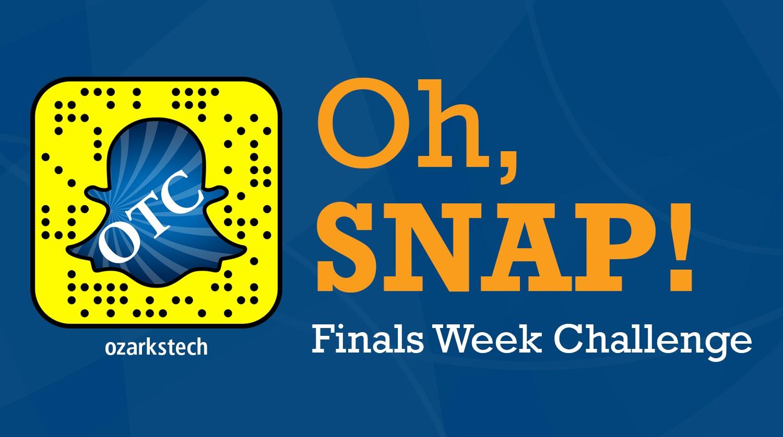 finals week challenge snapchat
