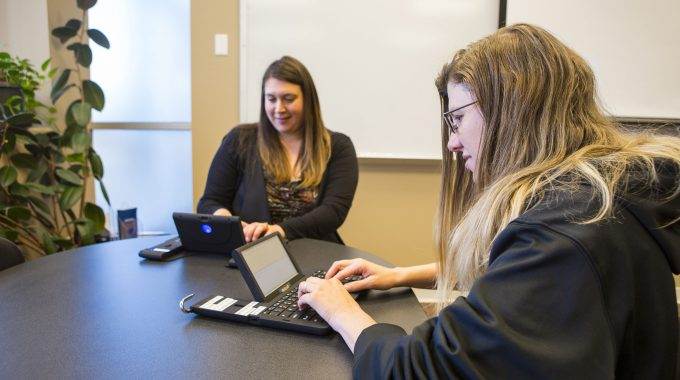 OTC Receives New Communication Devices For Deaf, Hard Of Hearing Students