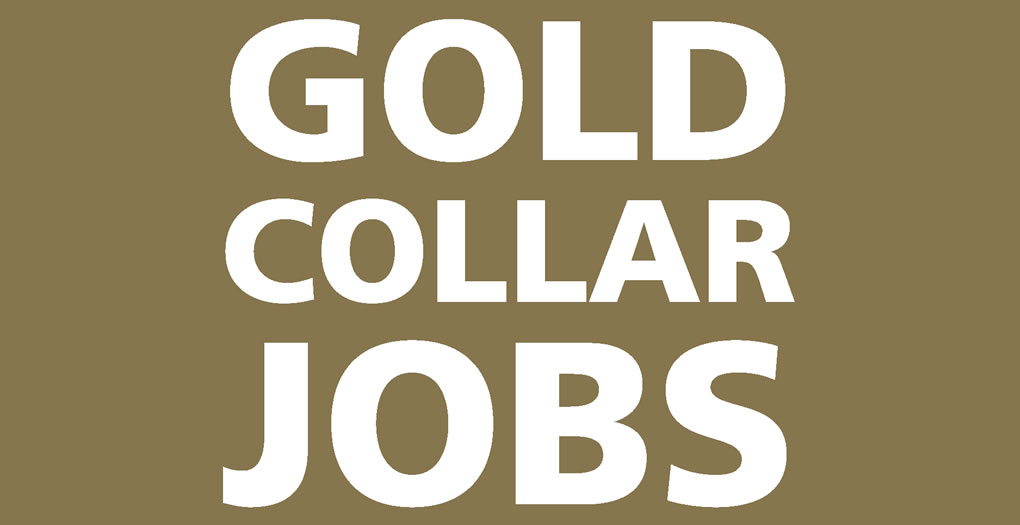 Gold Collar Jobs