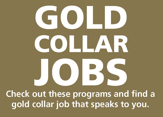 Gold Collar Jobs Thank You