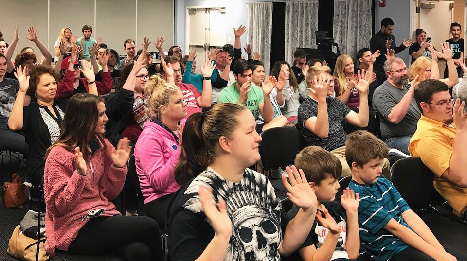 ASL showcase event