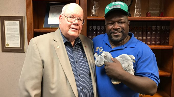 The OTC Rhinos? The College's First Presidents Reunite And Reminisce