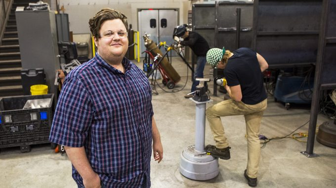 """Green"" OTC Graduate Credits Welding For Career Success"