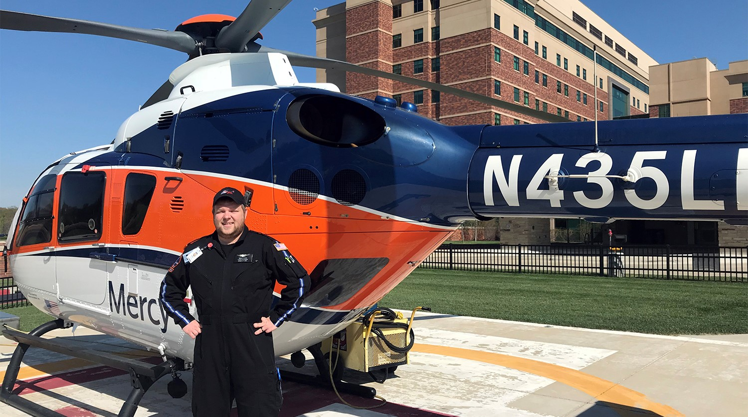 Otc Student Takes To The Skies As A Flight Paramedic