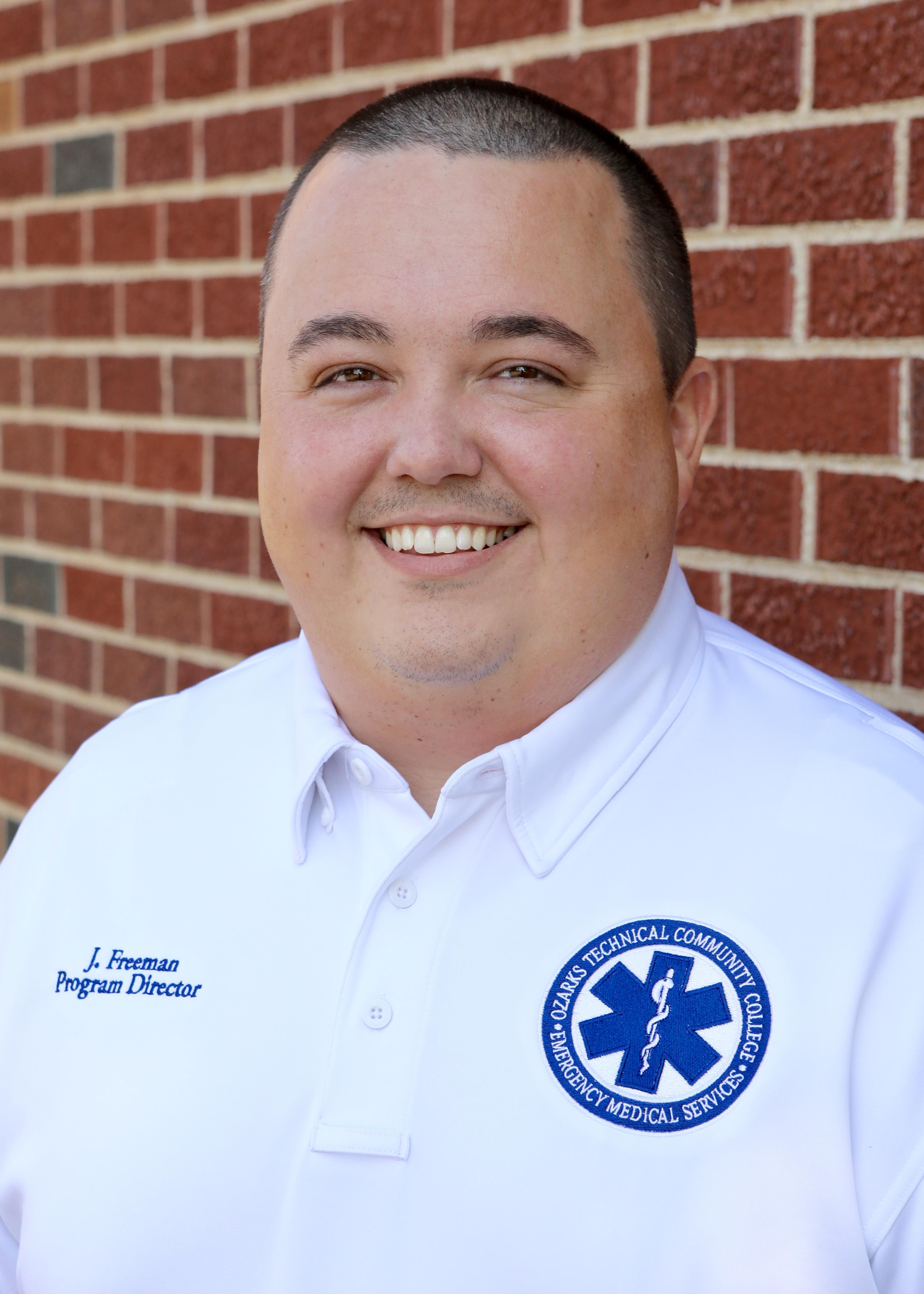Josh Freeman, EMS program director