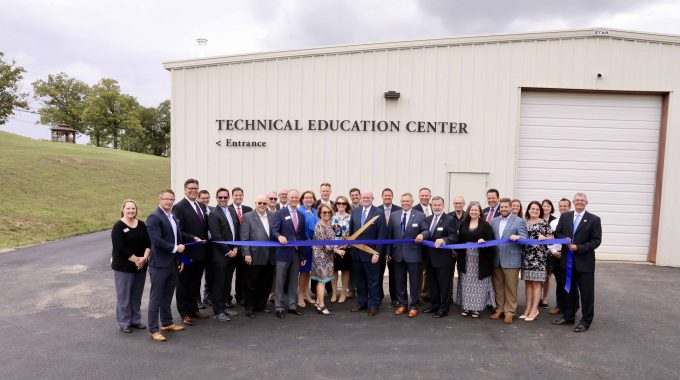 OTC Officials And Community Partners Cut The Ribbon At The Table Rock Technical Education Center