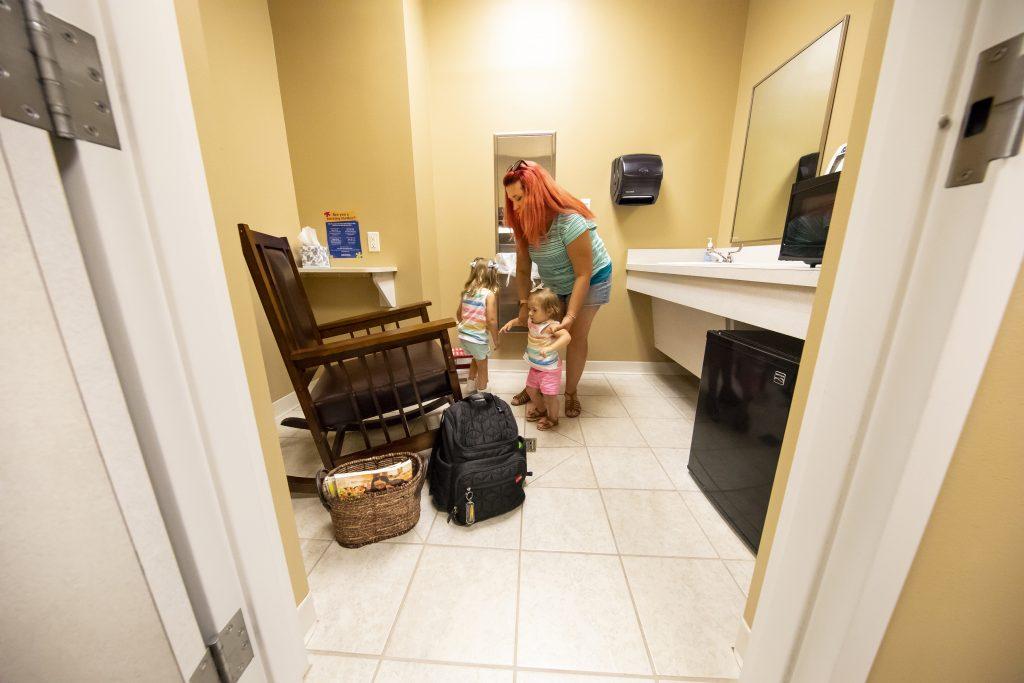 Photo of OTC's lactation room