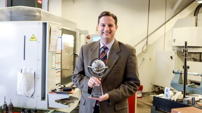 OTC's Matthew Hudson Earns Remanufacturing ACE Award