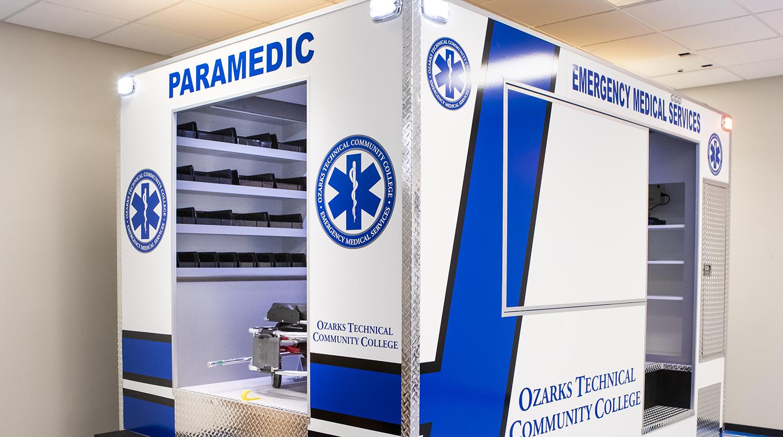EMS ambulance simulator