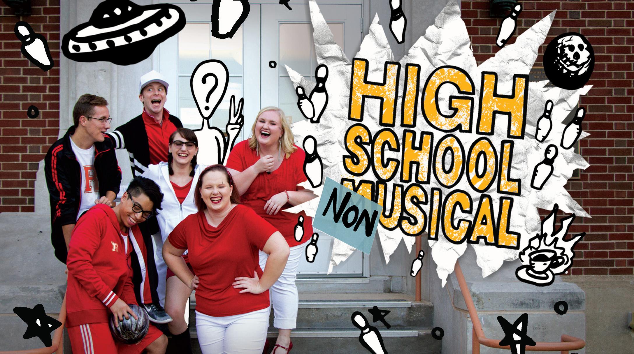High School Non Musical Poster