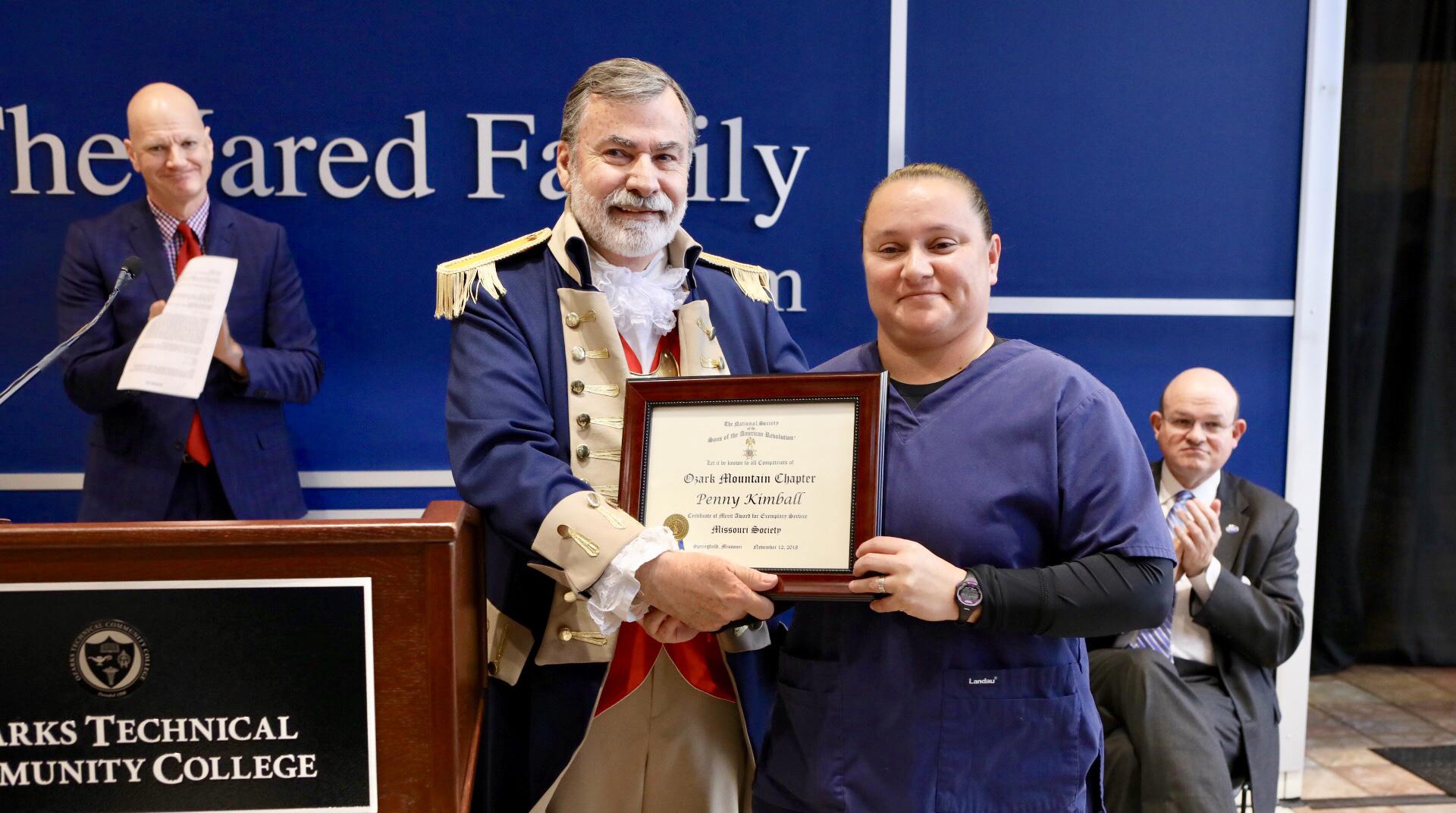 Outstanding Veteran Award