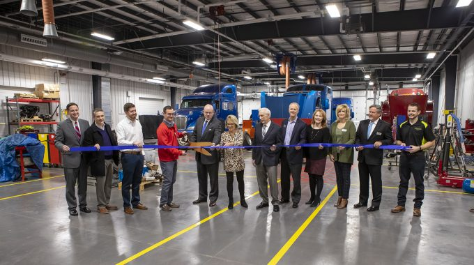 MHC Diesel Ribbon Cutting