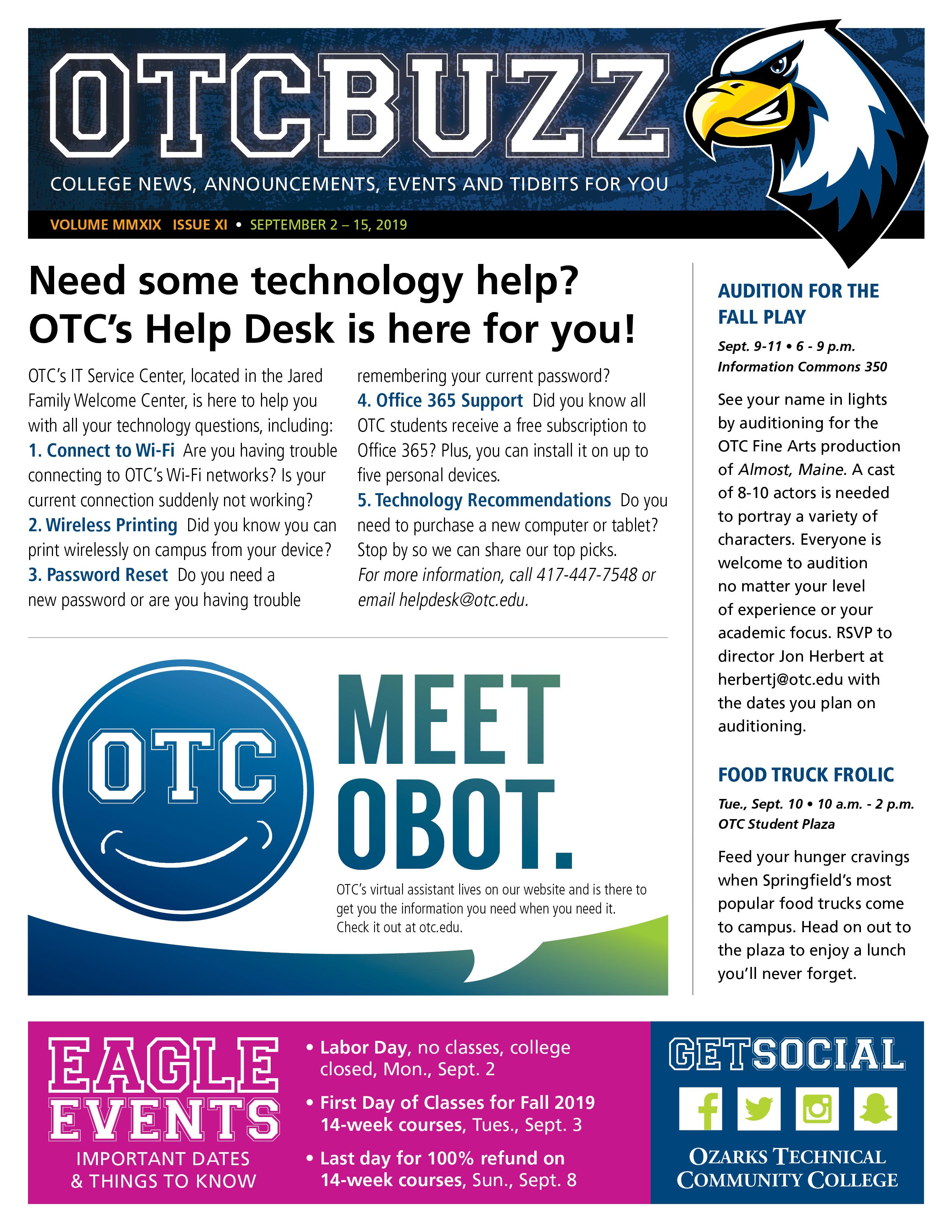 OTC Buzz 2019 Issue 11