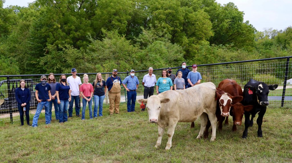 OTC expands agriculture program with donated livestock