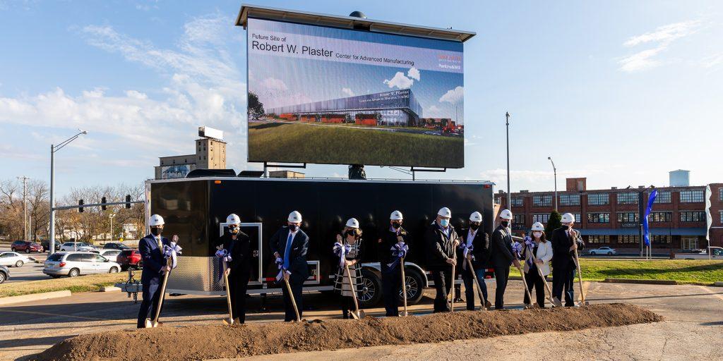 OTC breaks ground on manufacturing center, announces naming gift