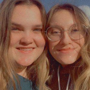 Camrie and Savannah